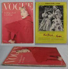 Vogue Magazine - 1955 - January